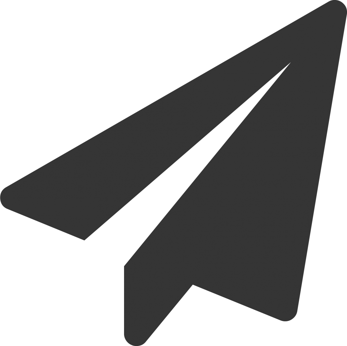 Paper Airplane Icon Link for Experiments