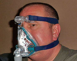 Sleep apnea face mask