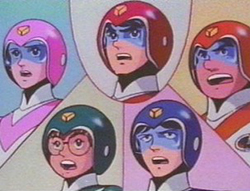 Characters from Voltron