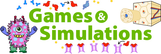 Games and Simulations on Ask A Biologist