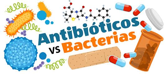 Antibióticos vs Bacterias