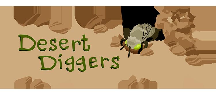 Desert Digger Bees