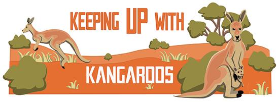 Keeping up with kangaroos
