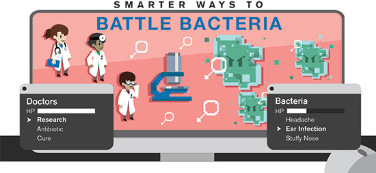 Smarter ways to battle bacteria