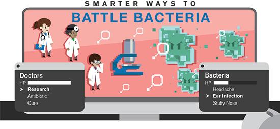 Smarter ways to battle bacteria