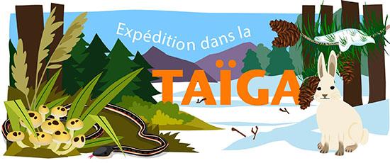 Expédition dans la Taïga