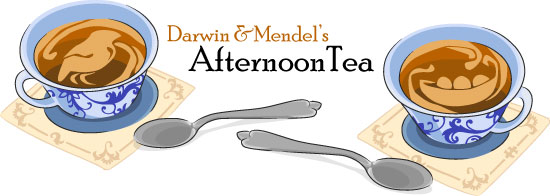 Darwin and Mendel's Afternoon Tea