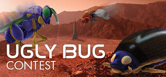 Ugly Bug Contest Header