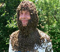 Brian Smith With Bees