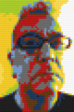 Johnson Righeira Lego portrait