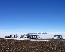 Finnish research station at Alboa