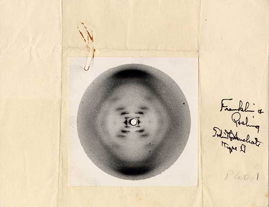 Rosalind Franklin - DNA - B form