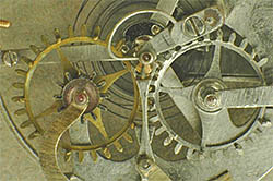 Mechanical watch gears