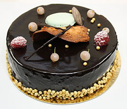 Chocolate mousse cake by Lionel Allorge