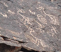 Petroglyph in South Mountain Park