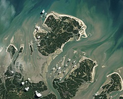 barrier islands in Brazil