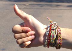 hitckhiker's thumb