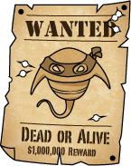 Plankton wanted poster
