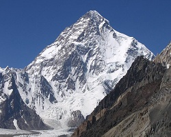K2 in the Himalayas