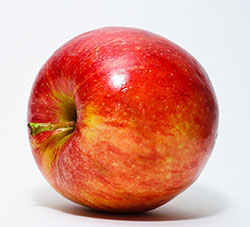 Red Gala apple