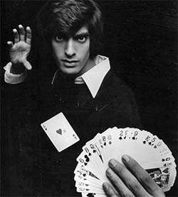 David Copperfield card trick