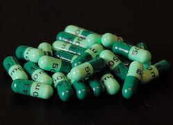 Cefalexin antibiotic pills