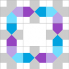 Example pattern from Nano Building Game
