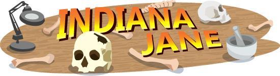 Indiana Jane illustration
