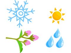 Winter, Spring, Summer, Fall