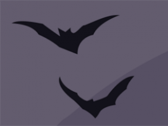 Small bats illustration