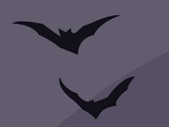 Small bats illustration