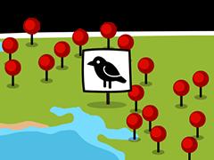 Animal range maps
