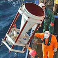 remote sensors in the ocean