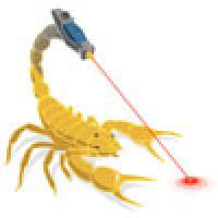 Scorpion with laser beams