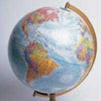 A classroom Globe