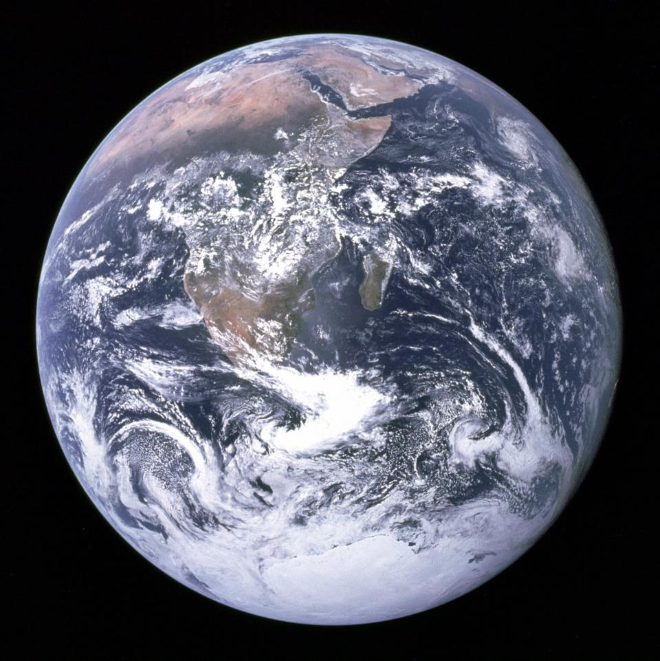 A picture of Earth, from space