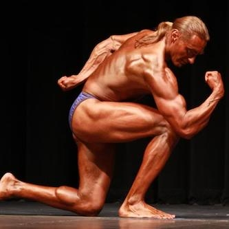 Vegan body builder Robert Cheeke