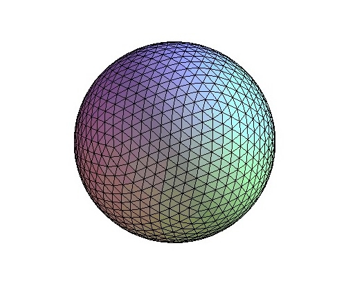 Triangle sphere