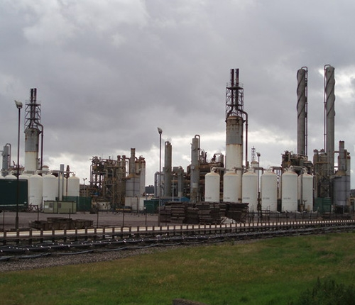City fertilizer plant