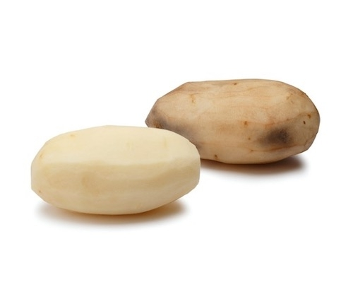 innate potatoes reduce browning in peeled potatoes, making them more appealing to consumers