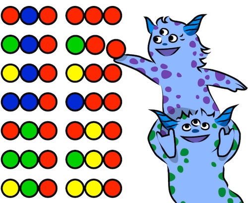 monster dots