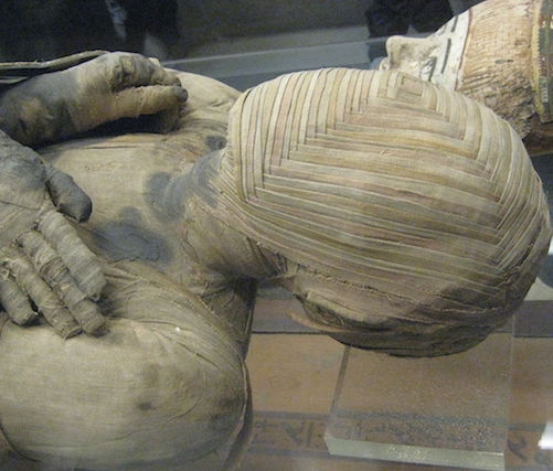 Mummy upper body