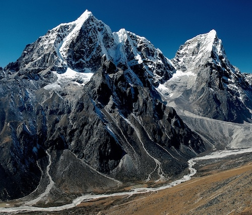 Taboche mountain in Nepal