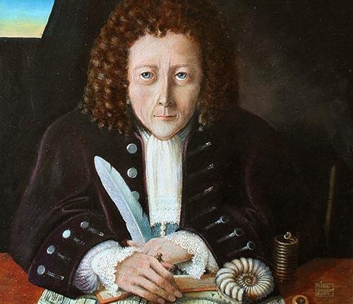 Robert Hooke portrait