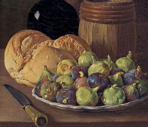 Luis Melendez fig painting