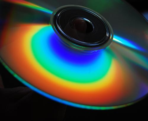 CD light spectrum