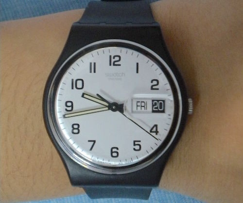 Wrist watch by Swatch