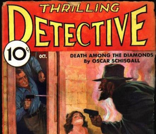 Detective Book Cover