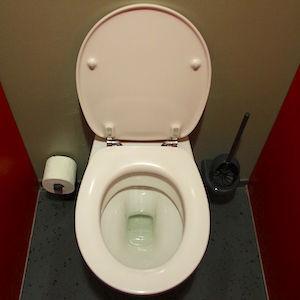 Um banheiro