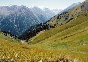 tien-shan mountains